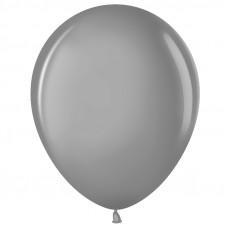 Шар (12''/30 см) Серебро (801), металлик.