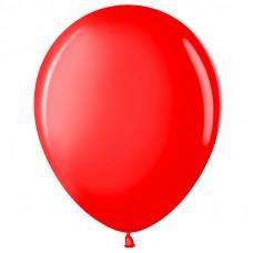 Шар (10''/25 см) Красный (230), пастель.
