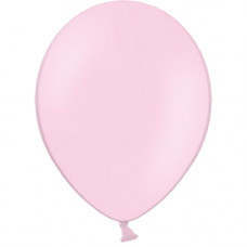 Шар (10''/25 см) Розовый, пастель.