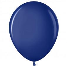 Шар (12''/30 см) Темно-синий (452), пастель.