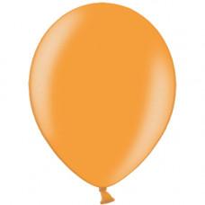 Шар (12''/30 см) Оранжевый, металлик.