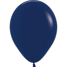 Шар (12''/30 см) Темно-синий (044), пастель.
