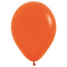 Шар (12''/30 см) Оранжевый (061), пастель.