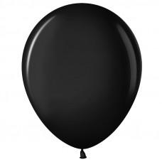 Шар (10''/25 см) Черный (299), пастель.