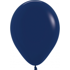 Шар (10''/25 см) Темно-синий (044), пастель.