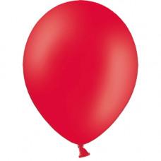 Шар (10''/25 см) Красный, пастель.