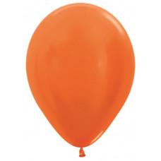 Шар (12''/30 см) Оранжевый (561), металлик.