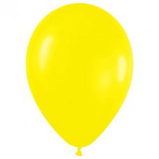 Шар (15''/38 см) Желтый (020), пастель.