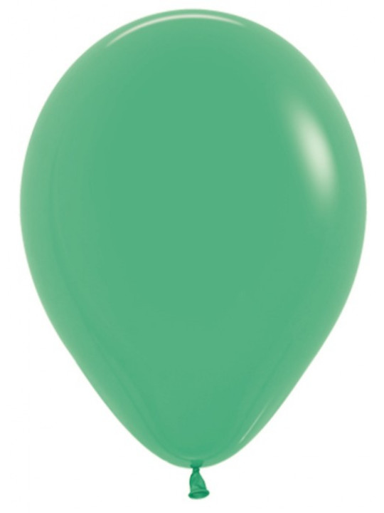 Шар (10''/25 см) Зеленый (030), пастель.