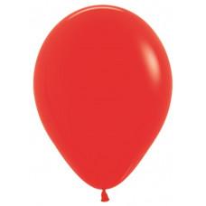 Шар (12''/30 см) Красный (015), пастель.