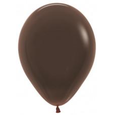 Шар (10''/25 см) Шоколадный (076), пастель.