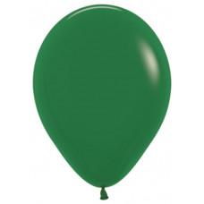 Шар (10''/25 см) Темно-зеленый (032), пастель.