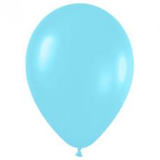 Шар (10''/25 см) Карибская синева (438), перламутр.