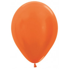 Шар (10''/25 см) Оранжевый (561), металлик.