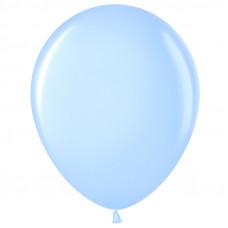 Шар (10''/25 см) Светло-голубой (454), пастель.