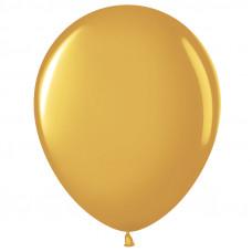Шар (10''/25 см) Золото (818), металлик.