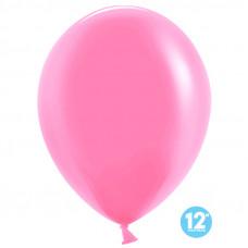 Шар (12''/30 см) Розовый, пастель лайт.