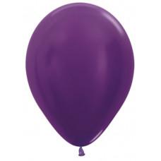 Шар (12''/30 см) Фиолетовый (551), металлик.