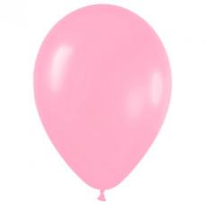 Шар (15''/38 см) Розовый (009), пастель.