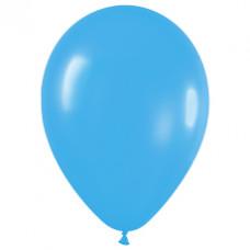 Шар (15''/38 см) Голубой (040), пастель.