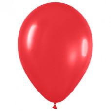 Шар (15''/38 см) Красный (015), пастель.