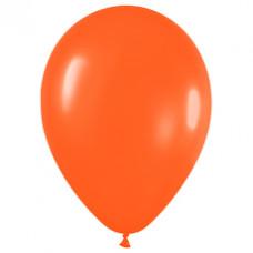 Шар (15''/38 см) Оранжевый (061), пастель.