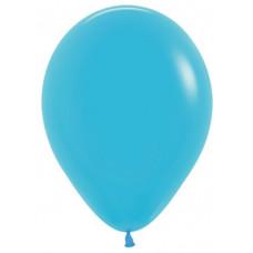 Шар (10''/25 см) Синяя бирюза (038), пастель.