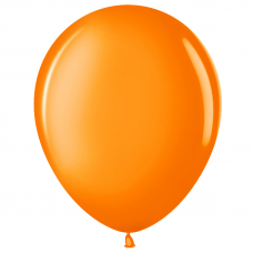 Шар (10''/25 см) Оранжевый (220), пастель.