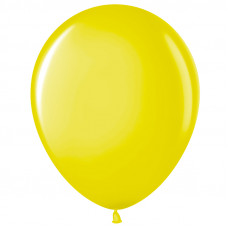 Шар (10''/25 см) Желтый (210), пастель.