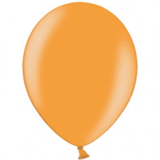 Шар (10''/25 см) Оранжевый, металлик.