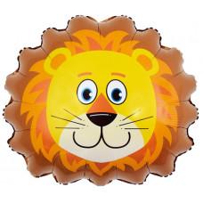 Шар (24''/61 см) Фигура, Голова Льва, 1 шт.