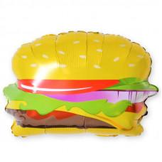Шар (21''/53 см) Фигура, Гамбургер, 1 шт.