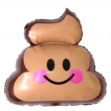 Шар (22''/56 см) Фигура, Шоколадное мороженое, 1 шт.