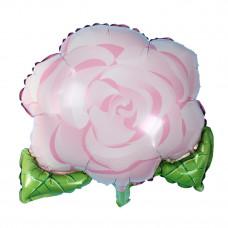Шар (21''/53 см) Фигура, Роза, 1 шт.